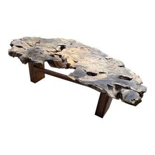 Gambrell Renard Burl Wood Coffee Table
