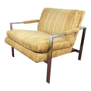 Milo Baughman Side Chair For Sale