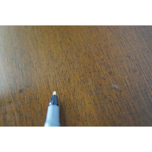 Kittinger Colonial Williamsburg Adaptation Mahogany Chippendale Writing Desk - Image 7 of 10