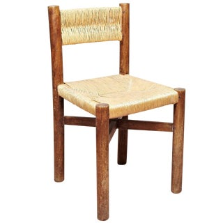 Rare Charlotte Perriand Meribel Chair, circa 1950