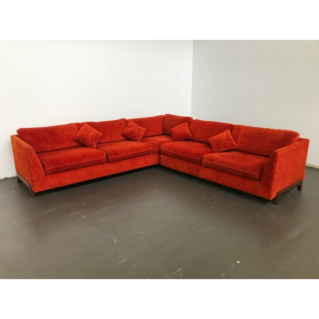 Mid-Century Modern Sectional Sofa by Adrian Pearsall for Craft Associates For Sale - Image 3 of 12