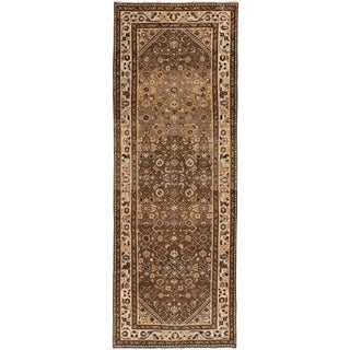 """Vintage Persian Rug, 3'5"""" X 9'10"""" For Sale"""