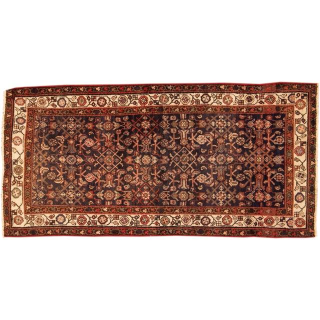 """Vintage Persian Wool Rug - 3'2"""" X 6'5"""" - Image 1 of 4"""