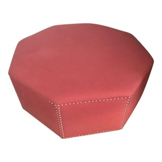 Baker Octagonal Ottoman Coffee Table