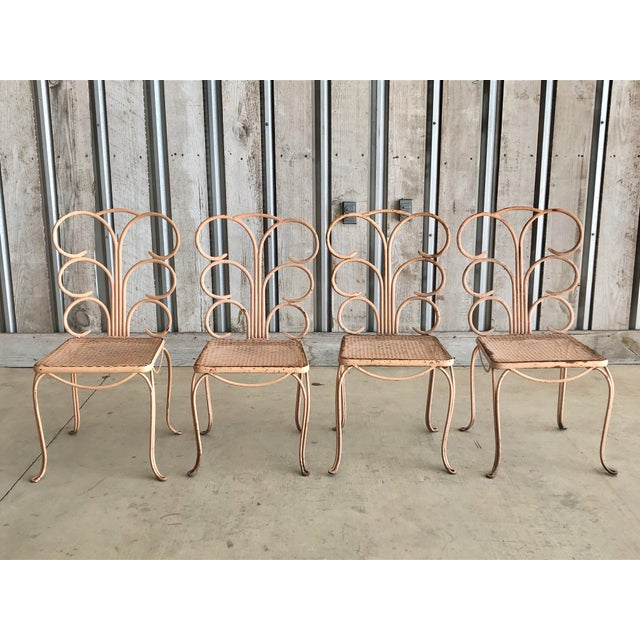 Midcentury French Garden Chairs For Sale - Image 6 of 6