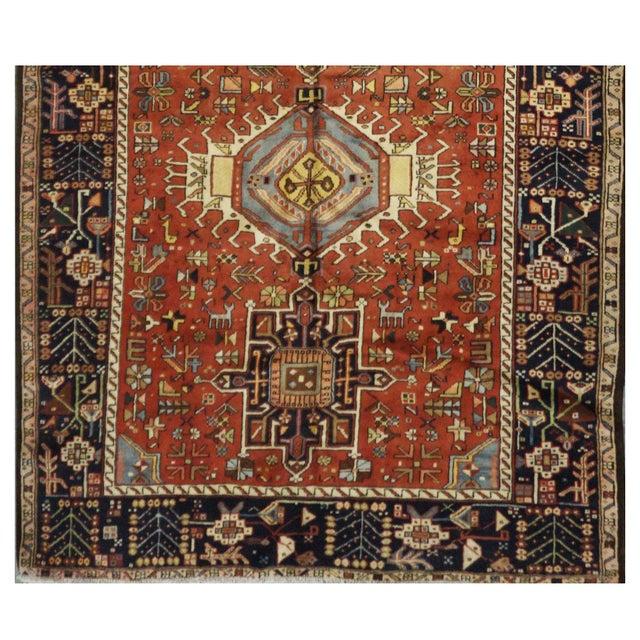 Islamic Vintage Persian Karaje Rug - 5.5 x 12.8 For Sale - Image 3 of 4
