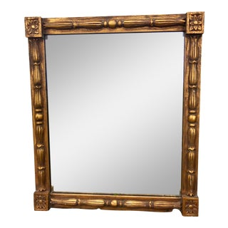 1970s Vintage Gilt Mirror For Sale