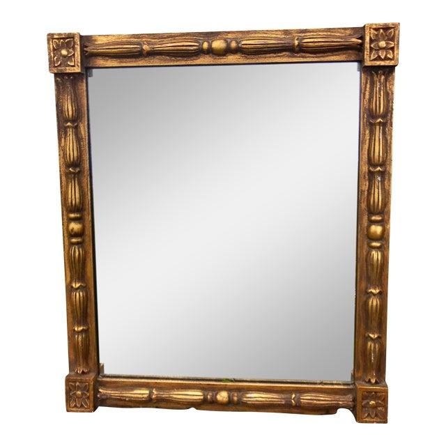 1970s Vintage Gilt Mirror For Sale