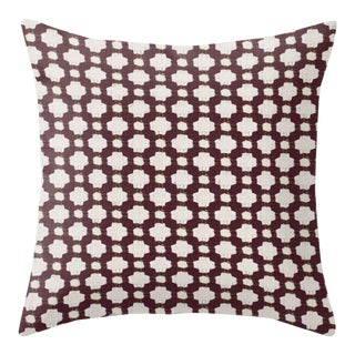 Schumacher Betwixt Pillow Cover in Bear - 22x22 For Sale