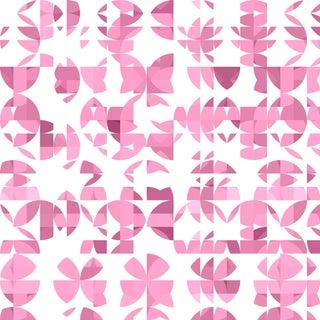 Botanica 'Roseum' Metallic Grass Cloth Wallpaper Roll For Sale