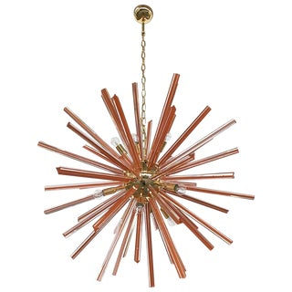 Caramello Sputnik Chandelier by Fabio Ltd For Sale