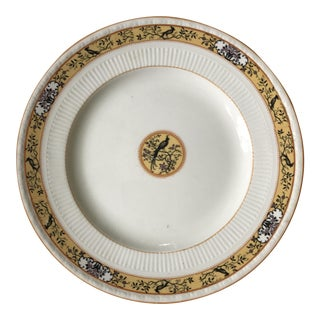 "Early 20th Century English Myott Son & Co. ""Birdette"" Luncheon Plate For Sale"
