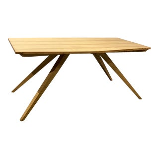 Bespoke American Studio Craft Dining Table For Sale