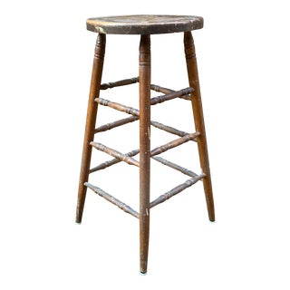 Early 20th Century Vintage Artist's Stool For Sale