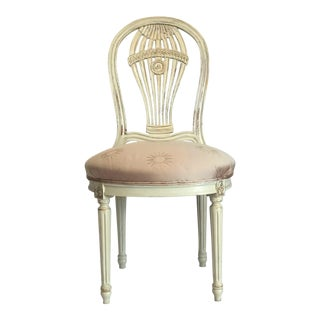 Vintage 20th C. Louis XVI Maison Jansen Style Balloon Chair