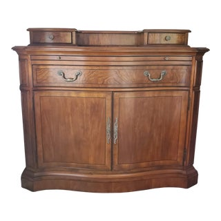 Drexel Heritage Bar and Wine Cabinet For Sale