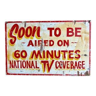 Vintage Carnival Sign