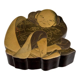 Japanese Lacquer Box, Circa 1880 For Sale