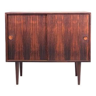 Vintage Danish Rosewood Cabinet For Sale