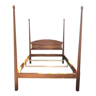 Stickley Cherry Pencil Post Bed