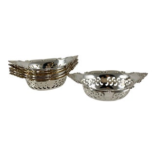 Gorham Strasbourg Sterling Silver Nut Cups, Set of Eight For Sale