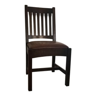 Mission Oak Stickley Chair