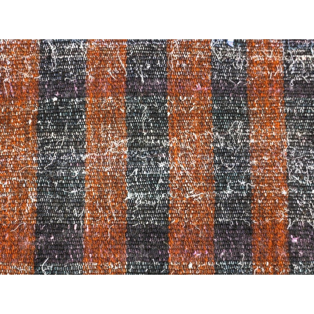 "Vintage Turkish Kilim Runner2'7'x18'6"" For Sale - Image 11 of 13"