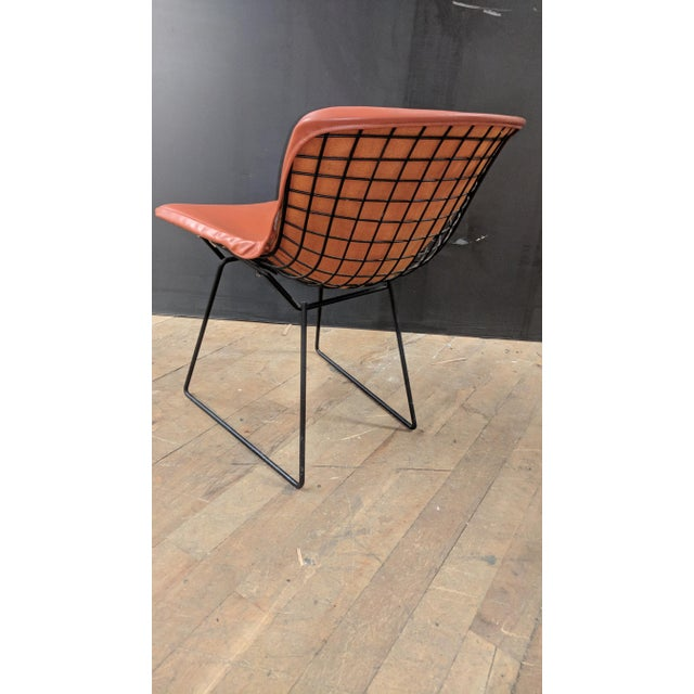 Knoll Vintage Knoll Bertoia Early 80s Side Chair For Sale - Image 4 of 6