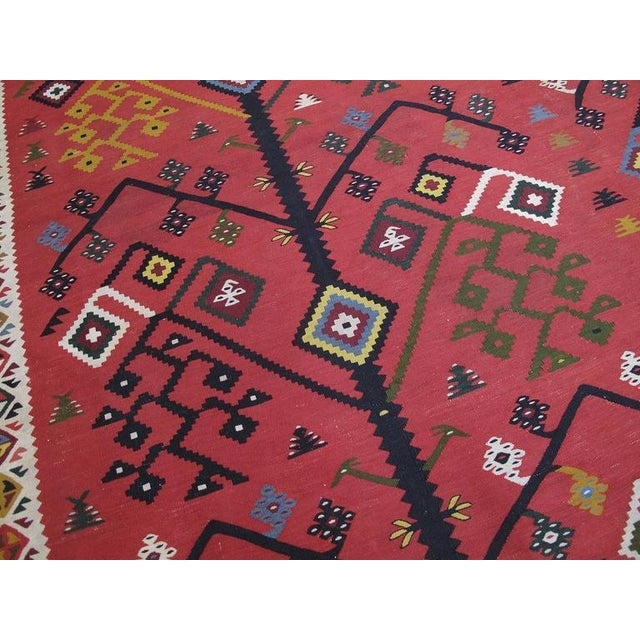 Antique Sharkoy Kilim - Image 5 of 10