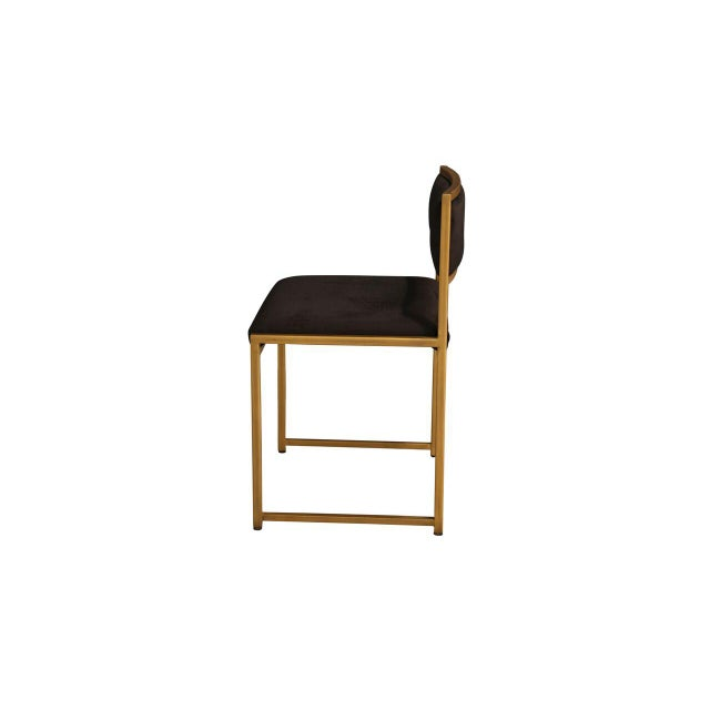 Contemporary Carlyle Side Chair For Sale - Image 3 of 6