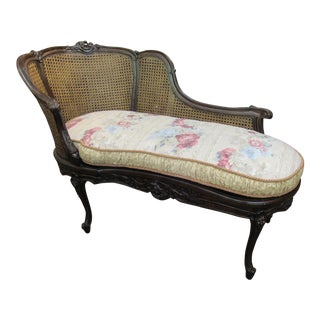 French Style Chaise Lounge For Sale