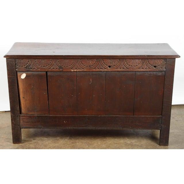 19th Century English Oak Sideboard - Image 9 of 10