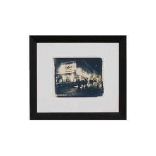 Le Consulat, Paris, France Fine Art Giclee of a Cyanotype, Framed For Sale