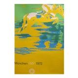 Image of Original 1972 Munich Equestrian Poster For Sale