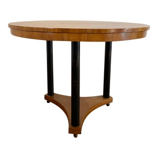 19th Century French Biedermeier Dining Table For Sale