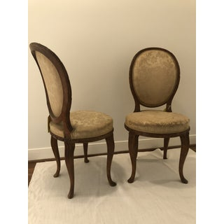 Early 20th Century French Faux Bois Side Chairs- a Pair Preview