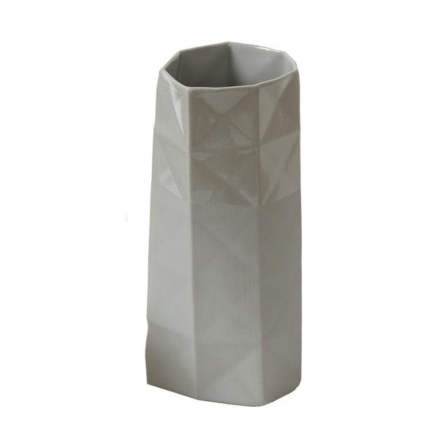 "Andrew Molleur Studio ceramics sold as a set or individually. Oblique planter $150.00 material - porcelain Size - 7.75""..."