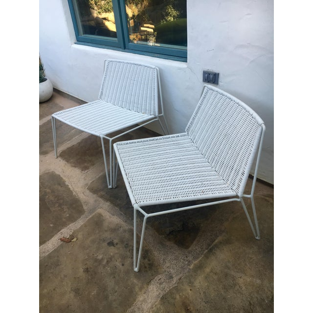 Room & Board Penelope Outdoor Loungers - A Pair - Image 7 of 8