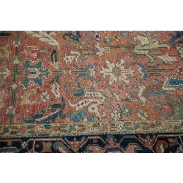 "Vintage Heriz Carpet - 8'3"" X 11'3"" - Image 10 of 10"