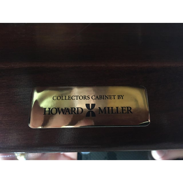 "Howard Miller ""Walcott"" Lighted Curio Cabinet For Sale In Charlotte - Image 6 of 11"