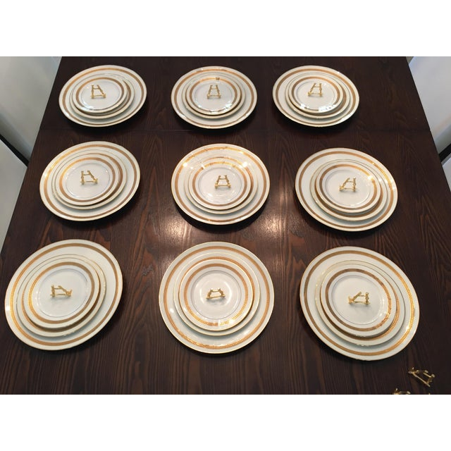 Dynamic Vintage China Dinnerware - Set of 9 For Sale In Miami - Image 6 of 6