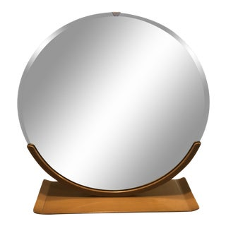 Norman Bel Geddes Art Deco Tabletop Mirror For Sale