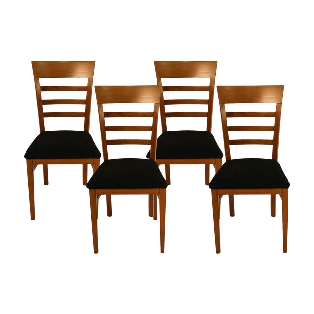 Four A. Sibau Italian Vintage Dining Room Chairs For Sale