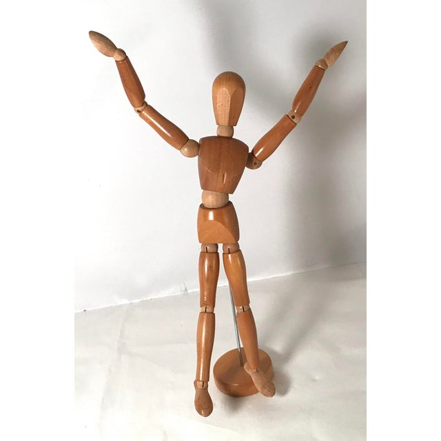 20th Century Figurative Artist Model of Articulating Man For Sale - Image 10 of 11