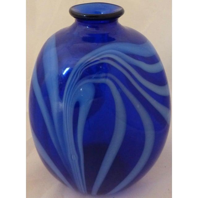 Mid Century Modern Studio Glass Vase - Image 5 of 8