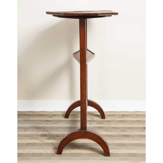 Wood 19th Century Neoclassical Directoire Mahogany Trestle Table For Sale - Image 7 of 10