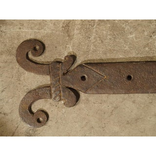 Pair of 15th Century Iron Door Straps From France Preview