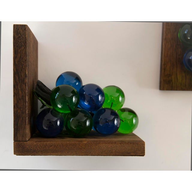 Mid-Century Lucite Grape Bookends- A pair - Image 9 of 10