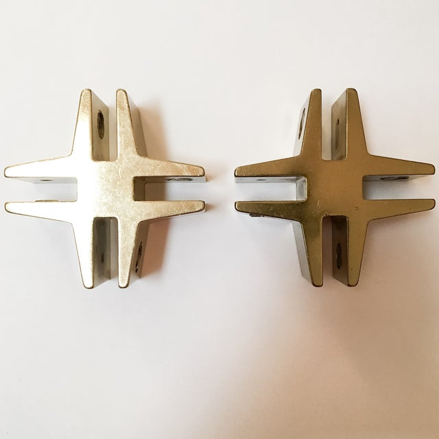 Brass Hashtags with Screw Detail - Pair - Image 4 of 9