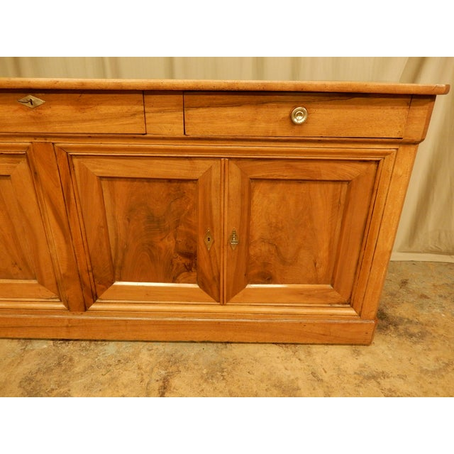 Traditional 19th Century Walnut French Enfilade For Sale - Image 3 of 10
